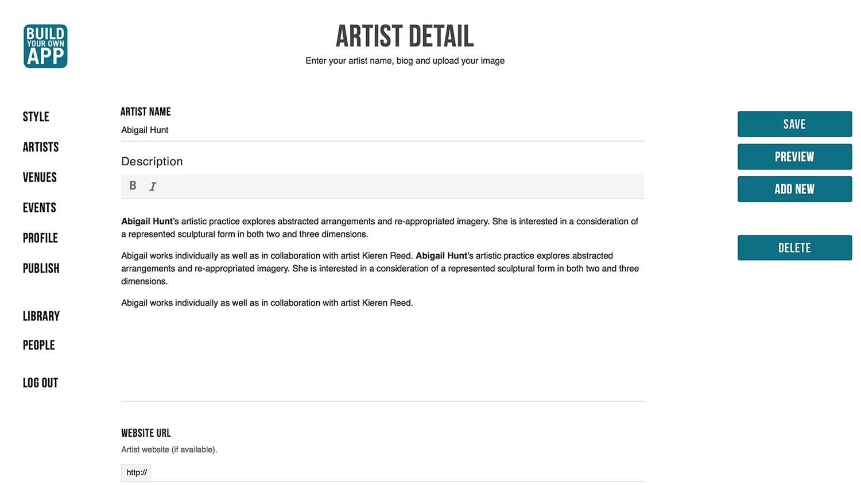 art festival biennale app